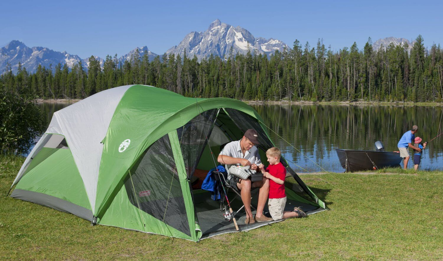 Coleman Evanston Screened Tent Review The Camping Corner