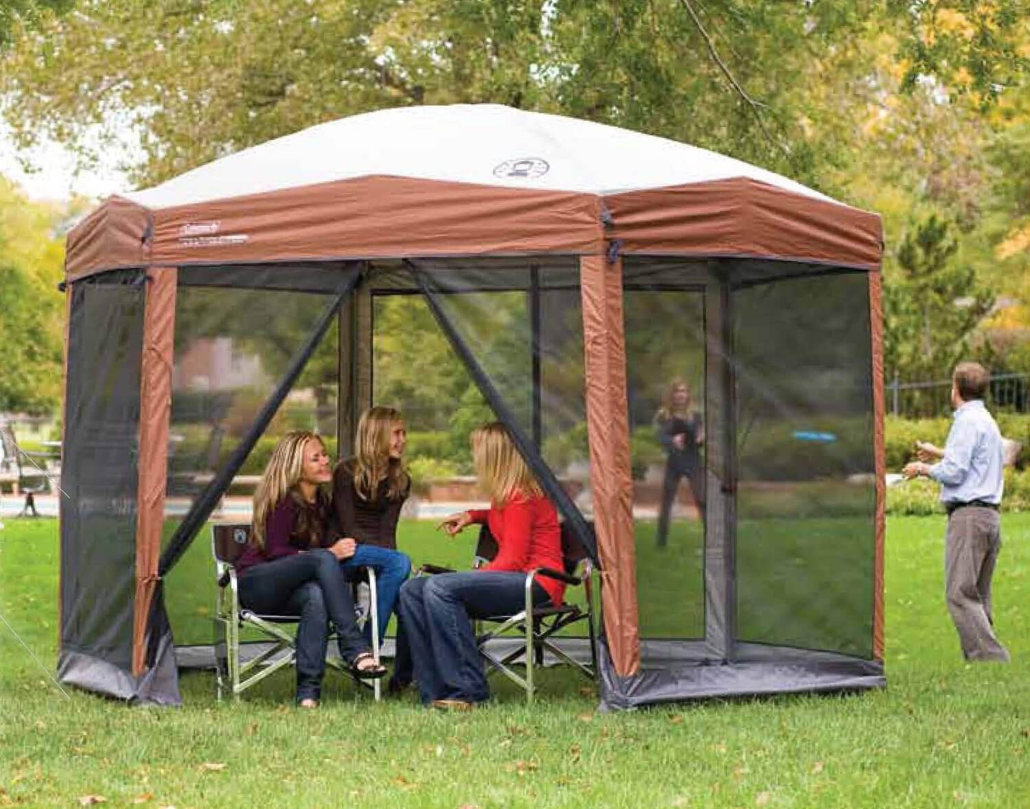 Coleman Instant Screened Canopy Review The Camping Corner